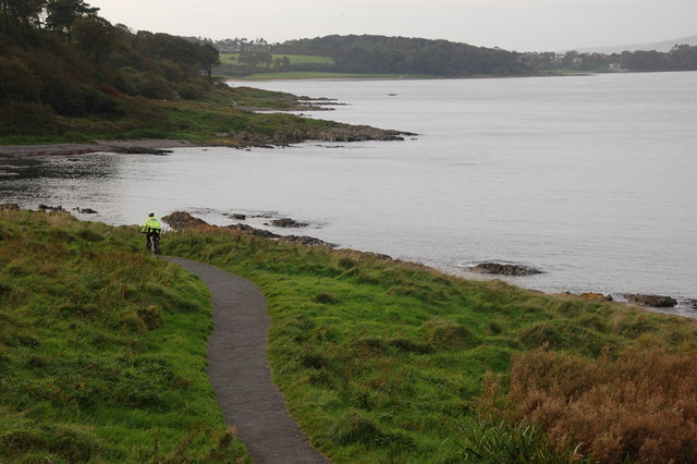 North Down Coastal Path near Carnalea
