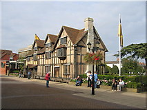 SP2055 : William Shakespeare's Birthplace by David Stowell