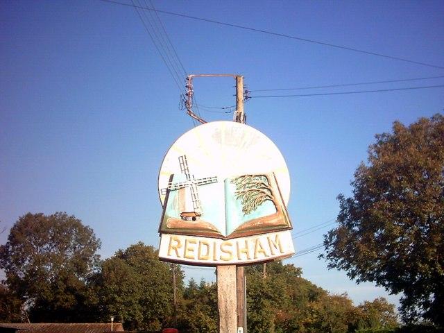 Redisham Village Sign