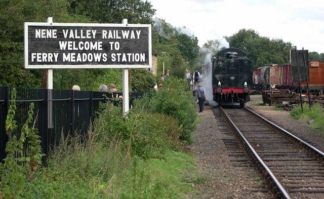 Ferry Meadows Railway Station 1