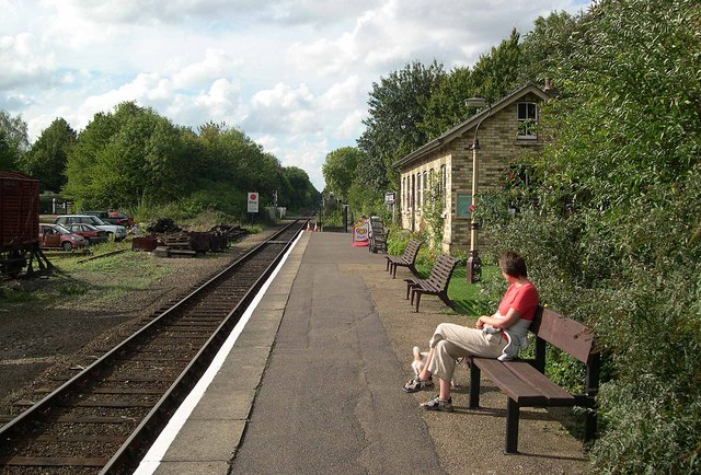 Ferry Meadows Railway Station 2
