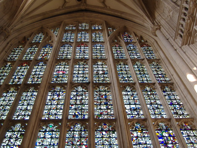Stained Glass Window, Winchester Cathedral