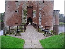 NY0265 : The gatehouse, Caerlaverock Castle by Ann Cook
