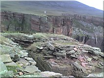 HY1700 : Summit of the Old Man Of Hoy by Doug Lee