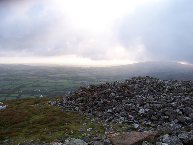 The ancient hill fort of Foeldrygarn, Preseli Mountains