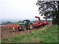 TA0115 : Potato Harvesting Machine by David Wright