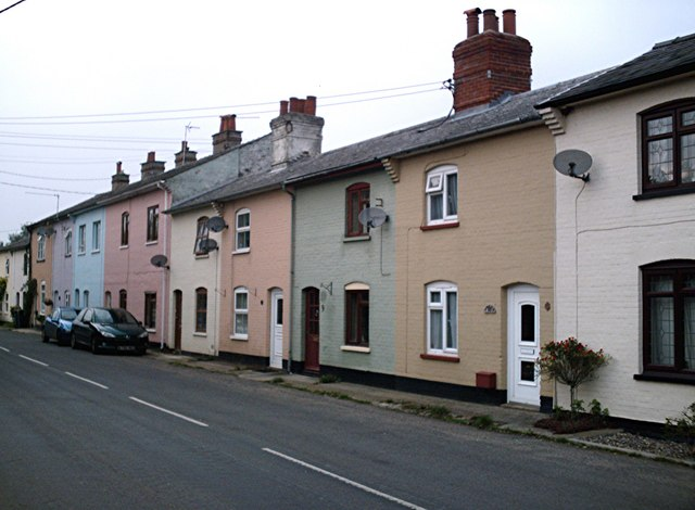 Terraced Cottages, Long Thurlow