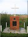 TF2236 : Lancaster memorial detail, Donington Eaudike, Lincs by Rodney Burton