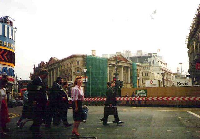 Eros at Piccadilly Circus
