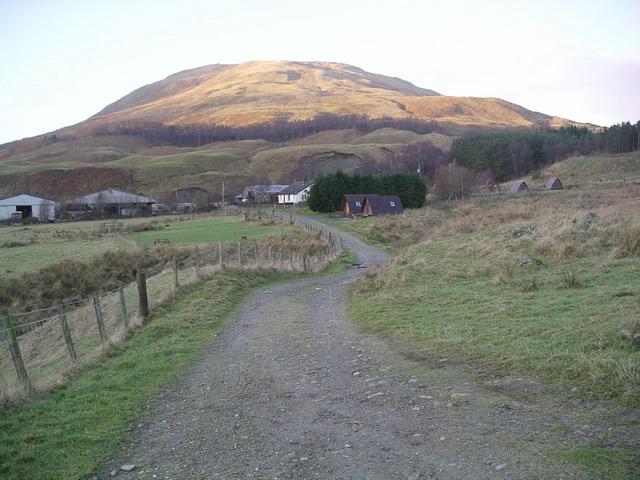 West Highland Way at Auchtertyre