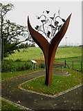 NX6280 : Dalry Covenanters Sculpture by Oliver Dixon