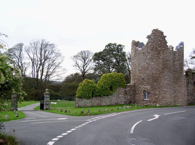 Folly gatehouse to Penrice Castle
