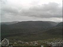 NH9305 : Lairig Ghru from Carn Eilrig by John G Burns