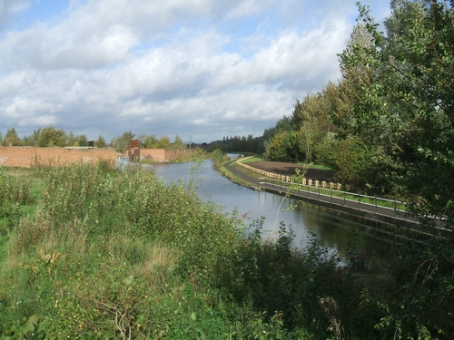 Landscaping to towpath at Goscote Valley