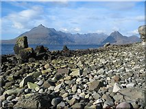 NG5113 : Elgol Beach by John Allan
