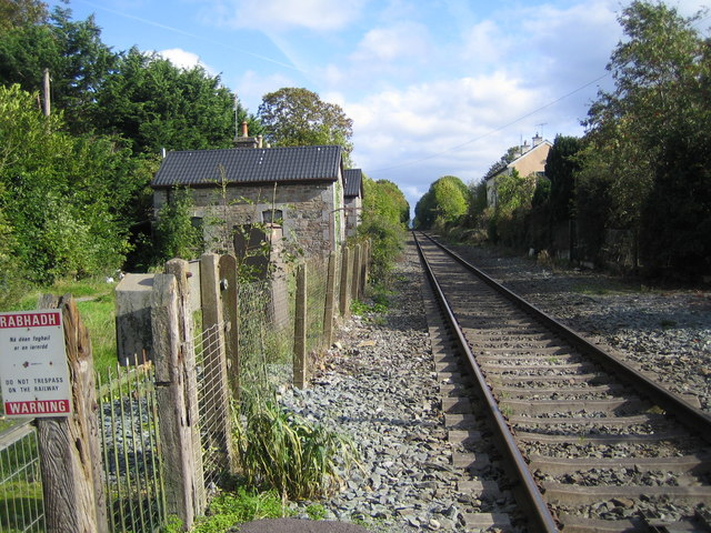 Baile Lombaird (Lombardstown): Railway line to Mallow