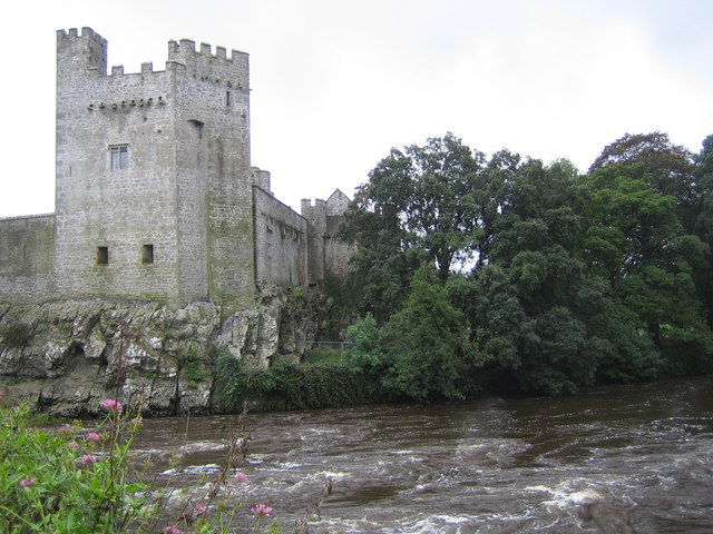 Cahir Castle and the River Suir
