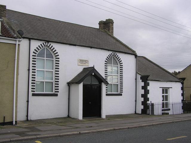Primitive Methodist Chapel (dated  AD 1870)