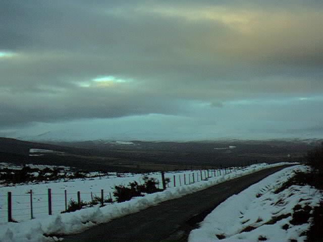 Winter in Abriachan