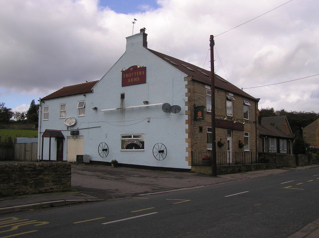Trotters Arms : Gordon Lane : Ramshaw
