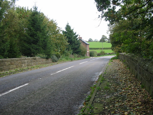 Railway Bridge near Idridgehay