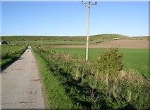 SU0664 : Farm track north of Harepath Farm by Chris Henley