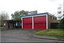 SJ9283 : Poynton fire station by Kevin Hale