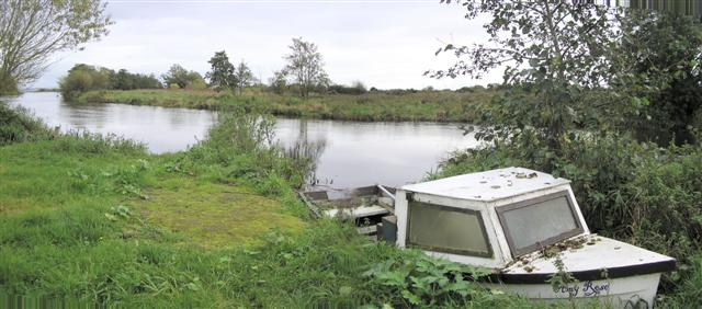 Inlet at Lough Neagh