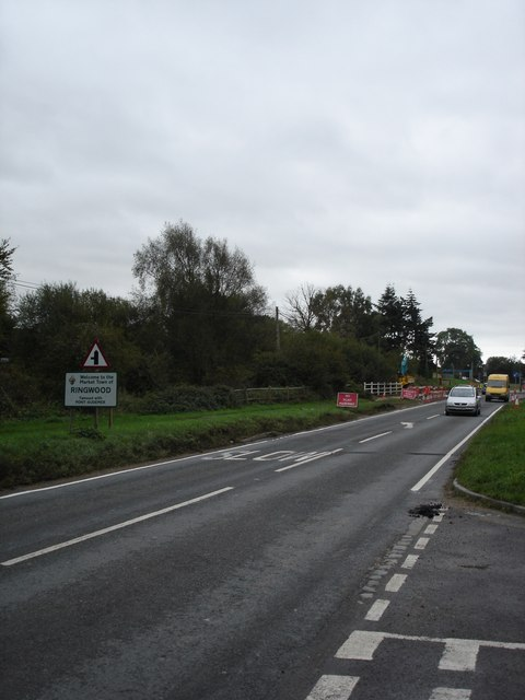 A338, south towards Ringwood