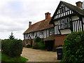TQ5514 : Hale Farm House, Hale Green by Simon Carey