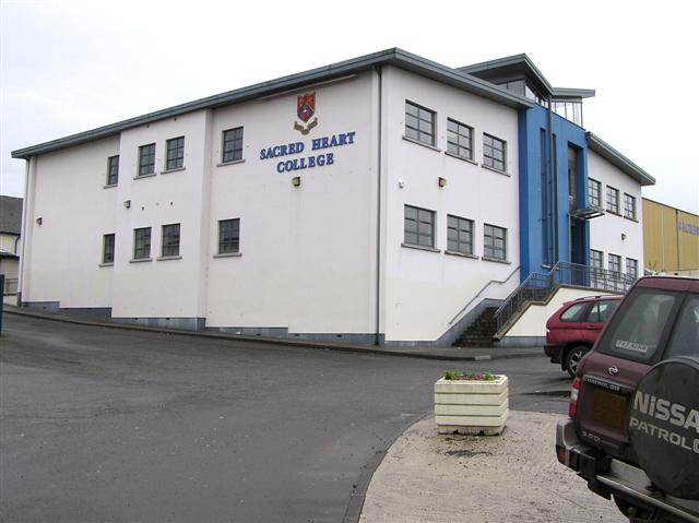 Sacred Heart College, Omagh by Kenneth  Allen