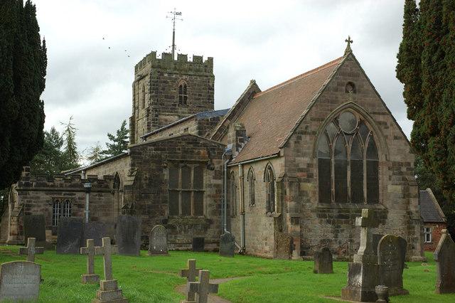 Kirk Langley Church