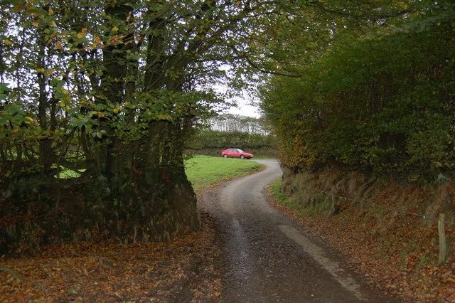 The Corner on Staddon Hill Road.