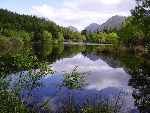Glencoe Lochan in Summer