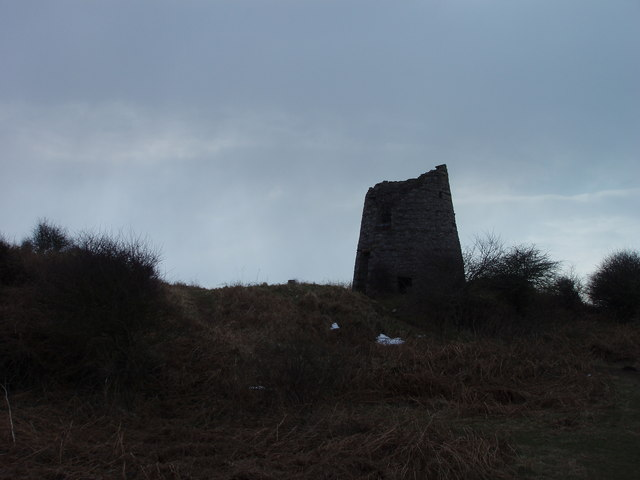Disused windmill at Hodbarrow