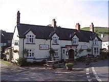 SJ1532 : The Hand inn, Llanarmon DC by Peter Craine