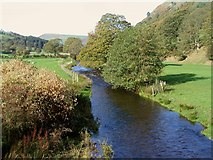 SJ1532 : River Ceiriog by Llanarmon DC by Peter Craine