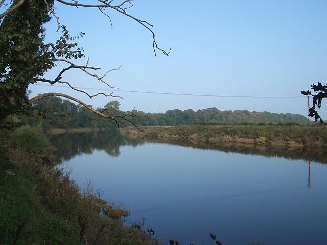 River Eden near Kirkandrews