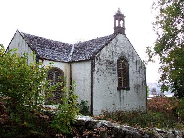 St. Ewan's church on Ulva