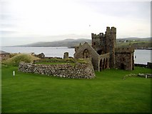 SC2484 : St Germans' Cathedral, Peel Castle, Isle of Man by kevin rothwell