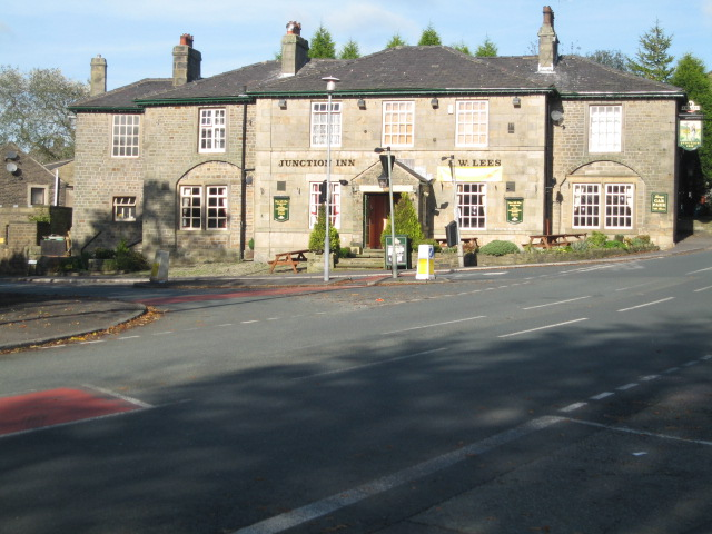 Junction Inn Denshaw C Paul Anderson Cc By Sa 2 0 Geograph Britain And Ireland