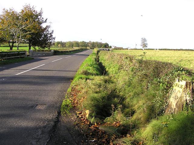 Road outside Coagh