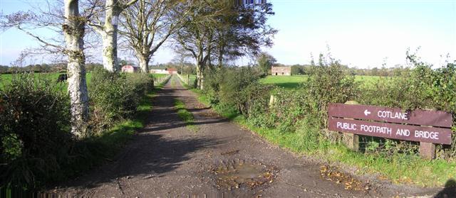 Cotlane Public footpath