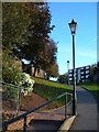 SX9292 : Path by the city walls by Derek Harper
