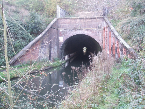North portal of Coseley Tunnel