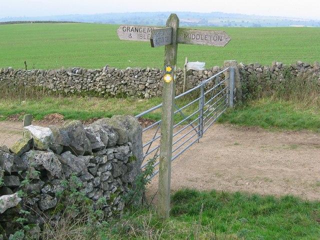Footpath crossing, Griffe Grange