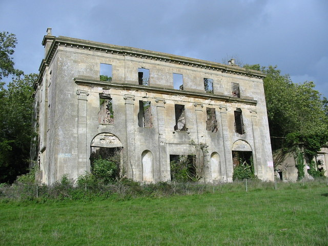 The ruin of Piercefield House Chepstow