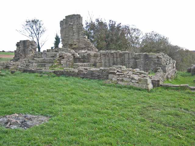 Ruins of Beaurepaire Prior's House