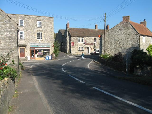 Pilton village centre