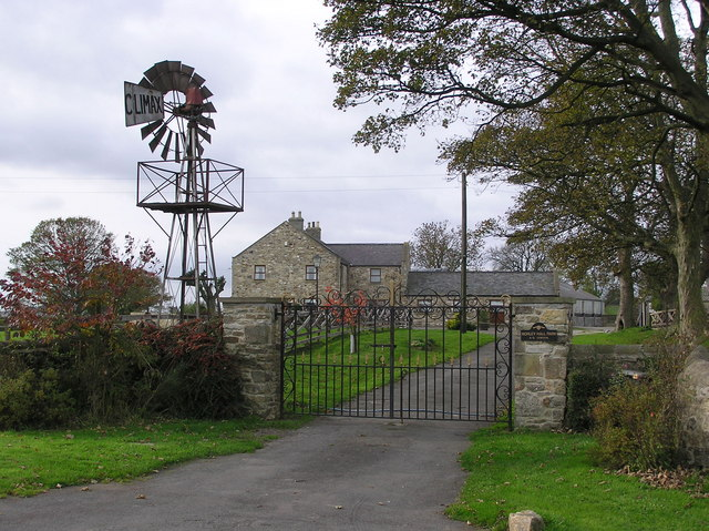Morley Hall Farm : (with working windmill)
